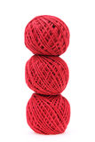 Red threads Royalty Free Stock Photography