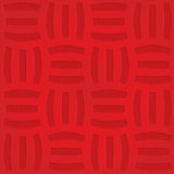 Red three striped grid on checkered background Royalty Free Stock Photos