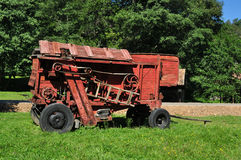 Red thresher Royalty Free Stock Photo