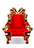 Red throne Royalty Free Stock Photography