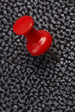 Red thumbtack Royalty Free Stock Photos