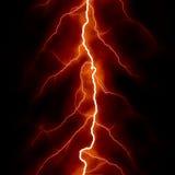 Red thunder Royalty Free Stock Photos