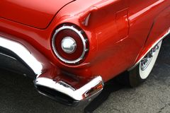 Red Thunderbird Stock Images