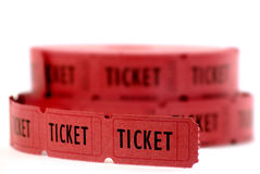 Red Tickets Royalty Free Stock Photos