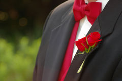 Red tie Stock Images