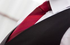 Red tie Stock Photo