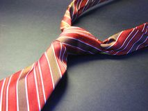 Red Tie 2 Royalty Free Stock Image
