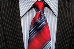 Red tie Royalty Free Stock Photography