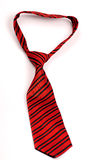 Red tie Stock Photography