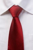 Red tie for men Royalty Free Stock Photography