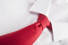 Red tie Royalty Free Stock Images