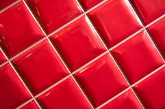 Red Tile Royalty Free Stock Photography