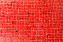Red Tile. Tiles, red walls and texture Royalty Free Stock Images