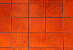 Red tile Stock Photography