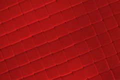 Red Tile Background Stock Image