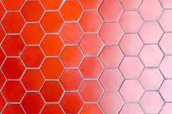Red tile floor gradient two tone Royalty Free Stock Photos
