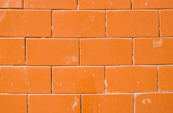 Red Tile glossy wall Royalty Free Stock Photo