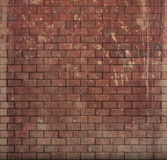 Red tile mosaic wall floor grunge stone 3d render Royalty Free Stock Photos