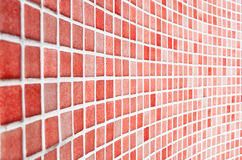 Red Tile Pattern Royalty Free Stock Photos
