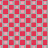 Red tile pattern  Stock Image
