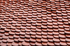Red tile of roof Royalty Free Stock Photography
