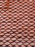 Red tile of roof Royalty Free Stock Photo