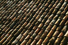 Red Tile Roof Royalty Free Stock Photos