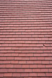 Red tile roof background Stock Image