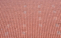 Red Tile Roof Background Royalty Free Stock Photography