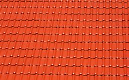 Red tile roof background Stock Photos
