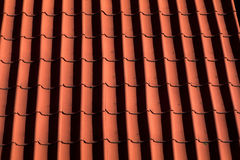 Red Tile roof, Germany Stock Photography