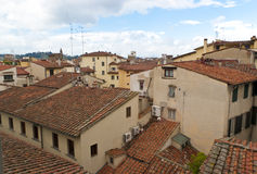 Red tile roofs of Florence Royalty Free Stock Images