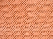 Red tiled background very close together Royalty Free Stock Images