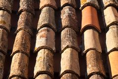 Red Tiled Roof Royalty Free Stock Images