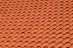 Red tiled roof Royalty Free Stock Photography