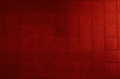 Red Tiled Wall Royalty Free Stock Images