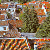 Red Tiles Stock Images