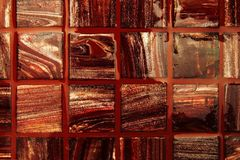Red tiles background Royalty Free Stock Photography