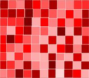 Red tiles background Royalty Free Stock Images