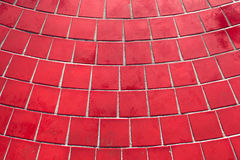 Red tiles Stock Image
