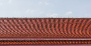 Red tiles roof Royalty Free Stock Photos