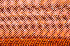 Red tiles roof Stock Photography