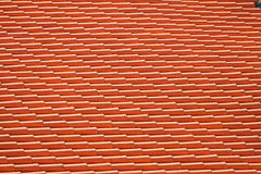 Red tiles roof background Stock Photo