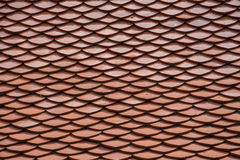 Red tiles roof Royalty Free Stock Photography