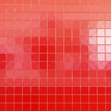 Red tiles wallpaper Royalty Free Stock Photo