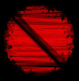 Red tire marks Royalty Free Stock Images