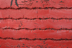 Red tire texture Stock Images