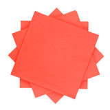 Red tissue paper Stock Photo