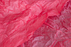 Red tissue paper background Royalty Free Stock Photo