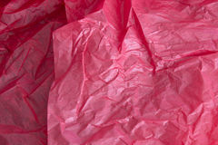 Red tissue paper background Stock Image